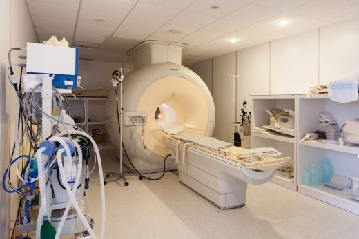 TAC en el Hospital Mateu Orfila