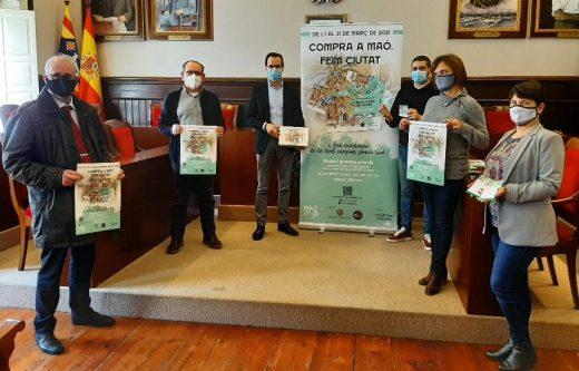 Presentación de la campaña en el Ayuntamiento de Maó