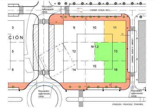 Plano de las nuevas viviendas que se comenzarán a construir en los próximos 6 meses