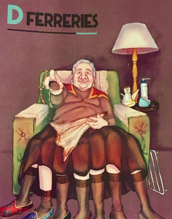 Silvia Vivó ilustra la lámina de regalo