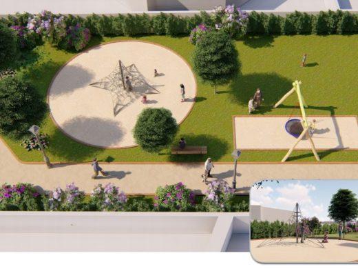 (Fotos) Un nuevo parque de 1.000 m2 para Sol del Este