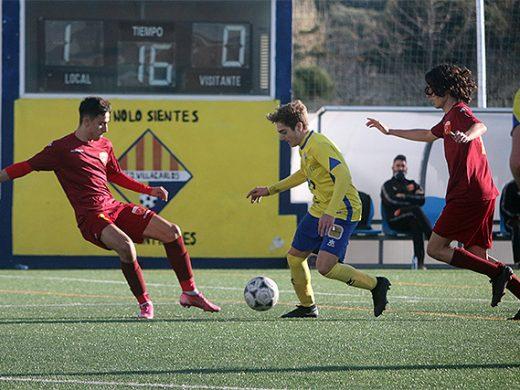 (Fotos) El Atlético Villacarlos logra su primer triunfo