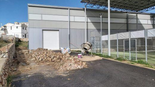 Imagen del inicio de las obras (Foto: Aj Es Castell)