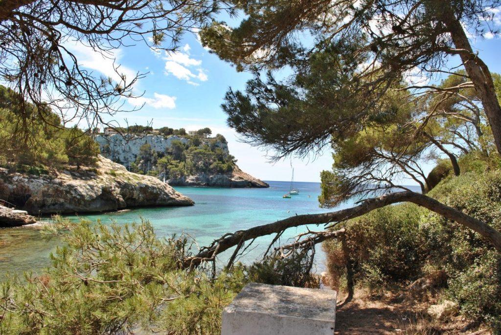 Imagen del sur de Menorca, Cala Galdana (Foto: EA)