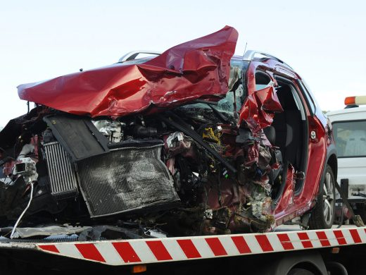 (Vídeo y fotos) Así quedó el coche tras el accidente mortal