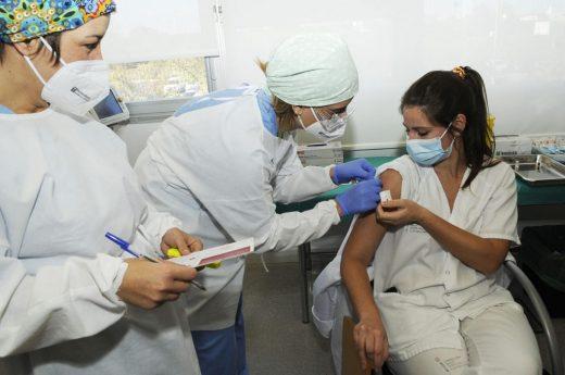 Se acelera la vacunación.