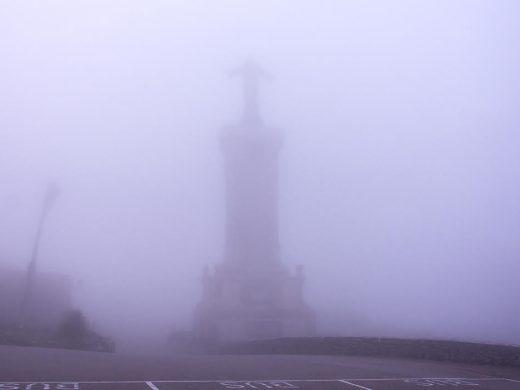 (Fotos) Las postales de la niebla en Monte Toro