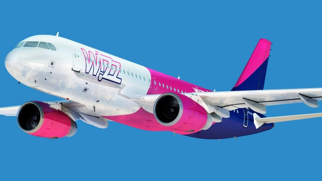 Avión de Wizz Air.