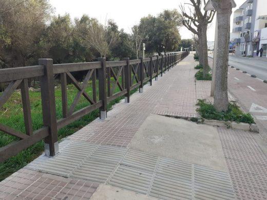 Nueva imagen del paseo del Canal Salat
