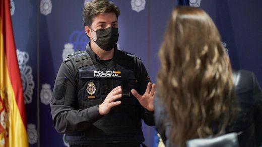 Borja Luendo, en un momento de la entrevista (Fotos: Javier Fernández - Mallorcadiario.com)