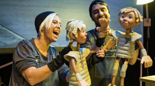 Marionetas que llegan de Lleida