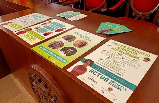 Carteles de la campaña que pone en marcha el Ayuntamiento de Maó