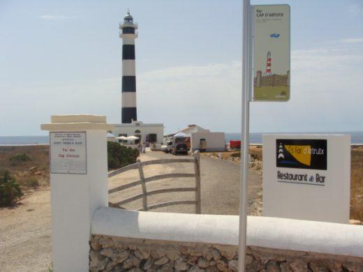 Faro d'Artrutx, en Ciutadella