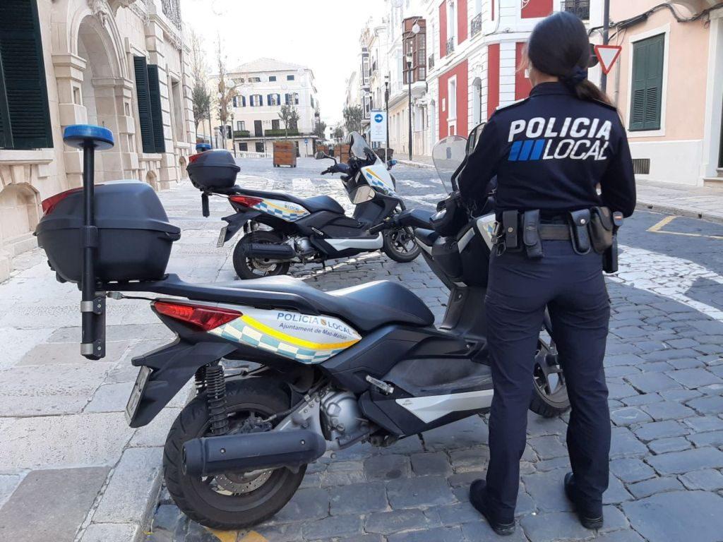 Actuación policial.
