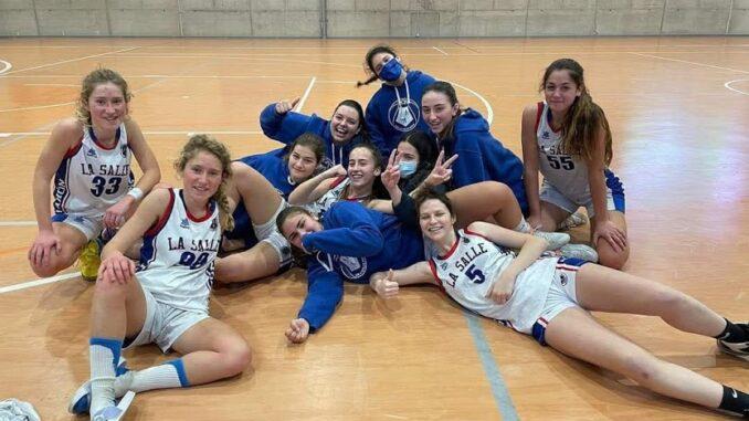 Equipo junior de La Salle Maó (Foto: CB La Salle Mahón)