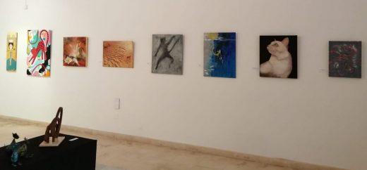 Detalle de la exposición.