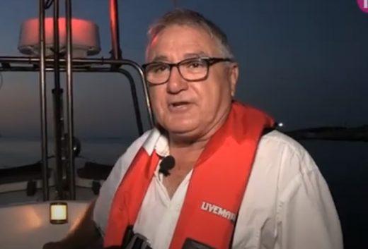 Fermín Aramburu, práctico del puerto de Maó, se retira después de 21 años