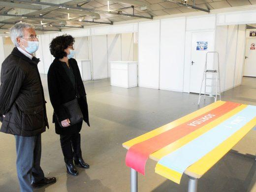 (Fotos) Se abren cuatro líneas de vacunación masiva en Menorca a partir del próximo miércoles