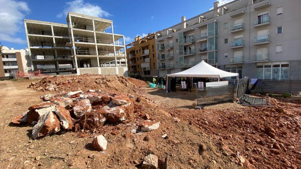 Imagen del espacio en el que se levantarán las nuevas viviendas (Fotos: Tolo Mercadal)