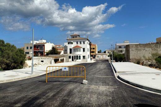 Imagen de la nueva conexión entre barrios de Maó