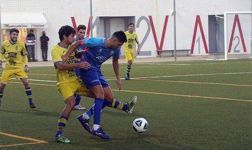Partido de Regional entre el Sporting i el Penya.