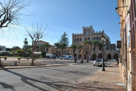 Plaza del Born de Ciutadella Foto EA