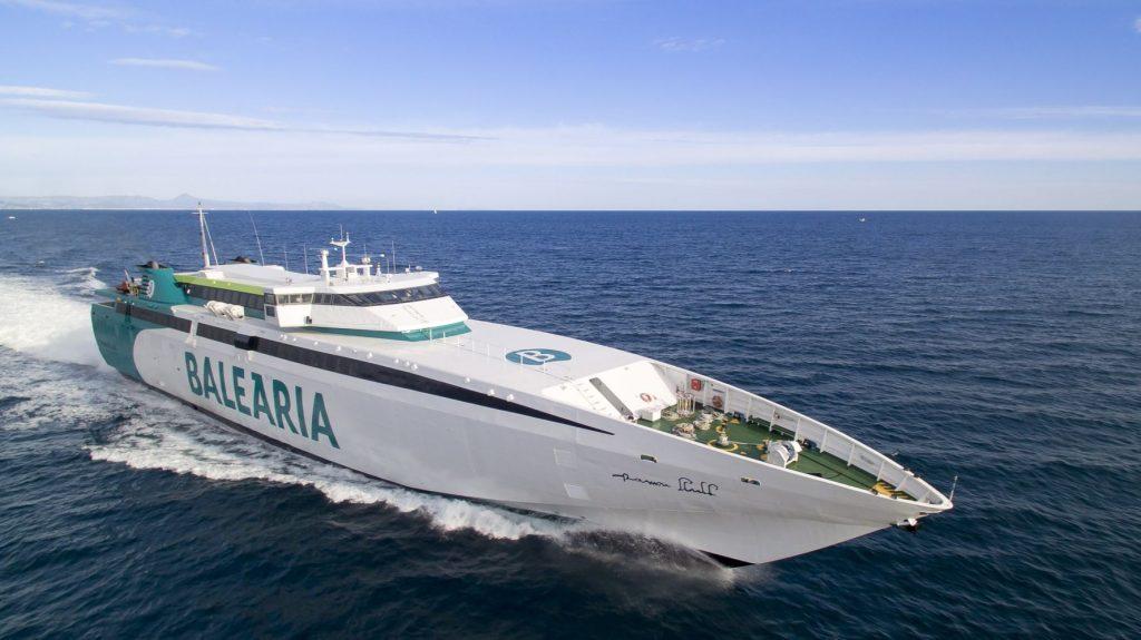 Un nuevo fast ferry para Menorca.