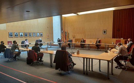 Reunión del sector turístico en el Consell de Menorca