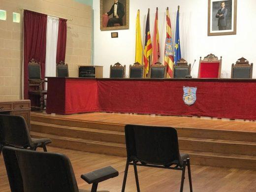 Sala de Plenos del Ayuntamiento de Es Castell