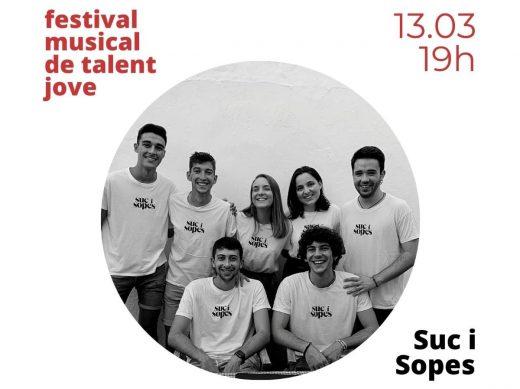 Suc i Sopes, uno de los grupos que participa en el Festival