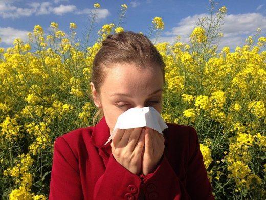 Alergia no es lo mismo que COVID