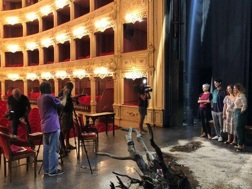 Imagen de la obra ganadora en la primera edición de esta convocatoria (Foto: Teatro Principal de Maó)