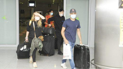 Turistas llegando a Menorca.