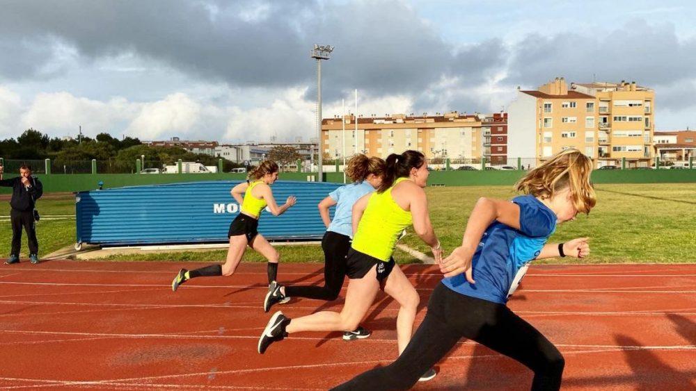 Serie d3 de los 100 metros femeninos.