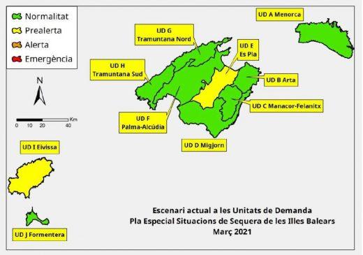 Situación actual de las reservas hídricas en Baleares