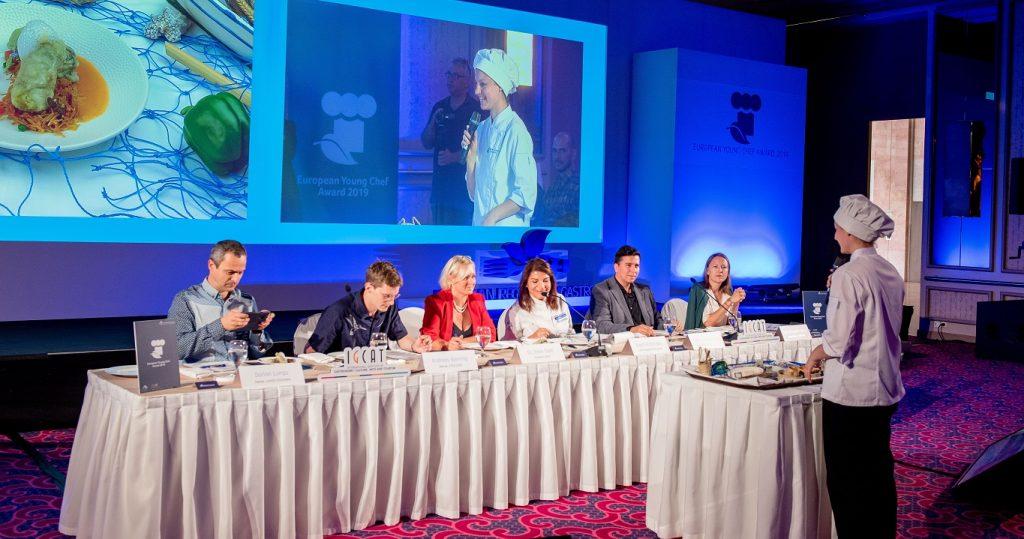"""Imagen de archivo del """"European Young Chef Award""""."""