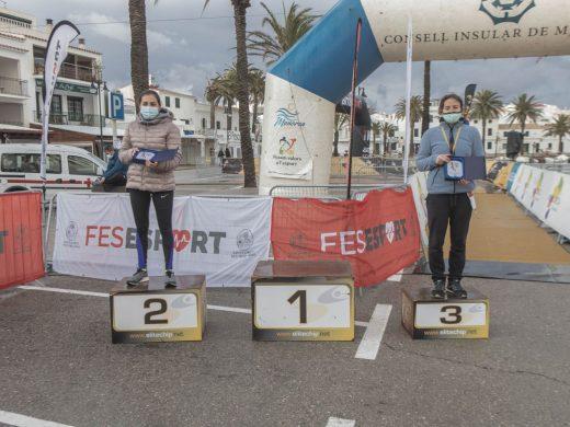 (Galería de fotos) Mitja Marató de Fornells: lluvia, viento y acento mallorquín