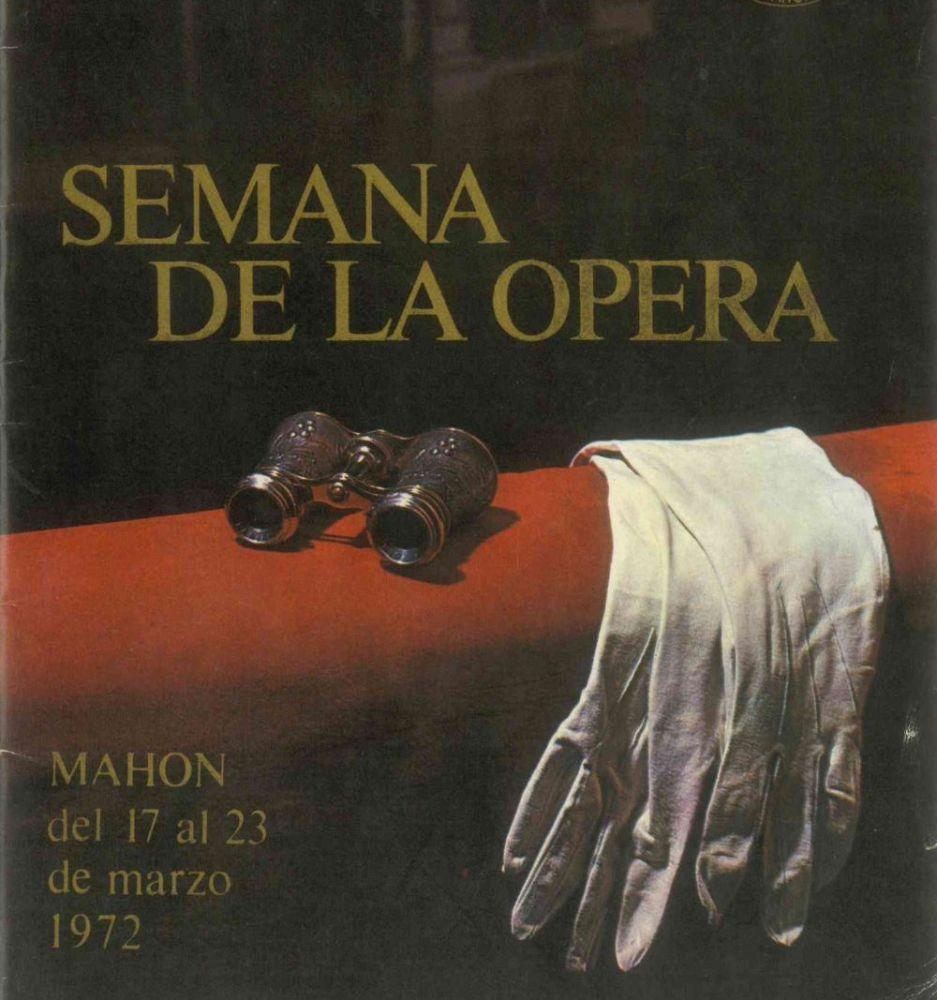 Cartel de la Semana de Ópera