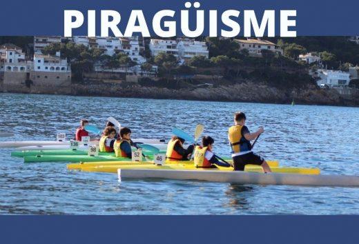 Cartel del encuentro deportivo en Ciutadella