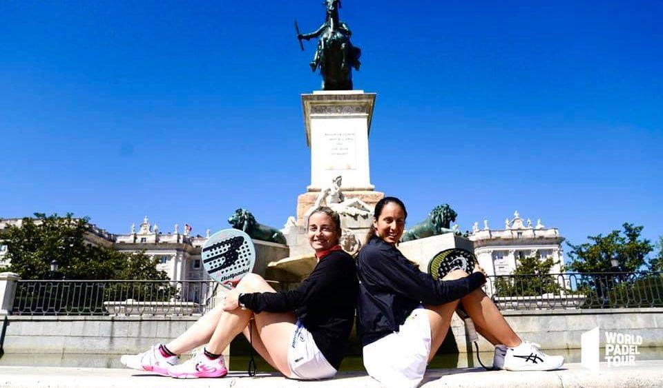 Triay, junto a Salazar, en la presentación del Madrid Open.