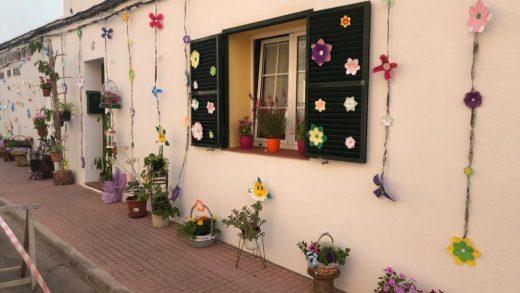 Flores en una fachada en la edición del año pasado.