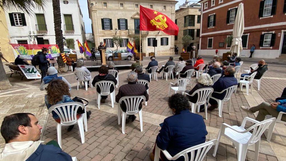 Imagen de la concentración (Fotos: Tolo Mercadal)