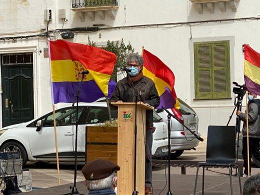 (Fotos) Concentración republicana en Maó