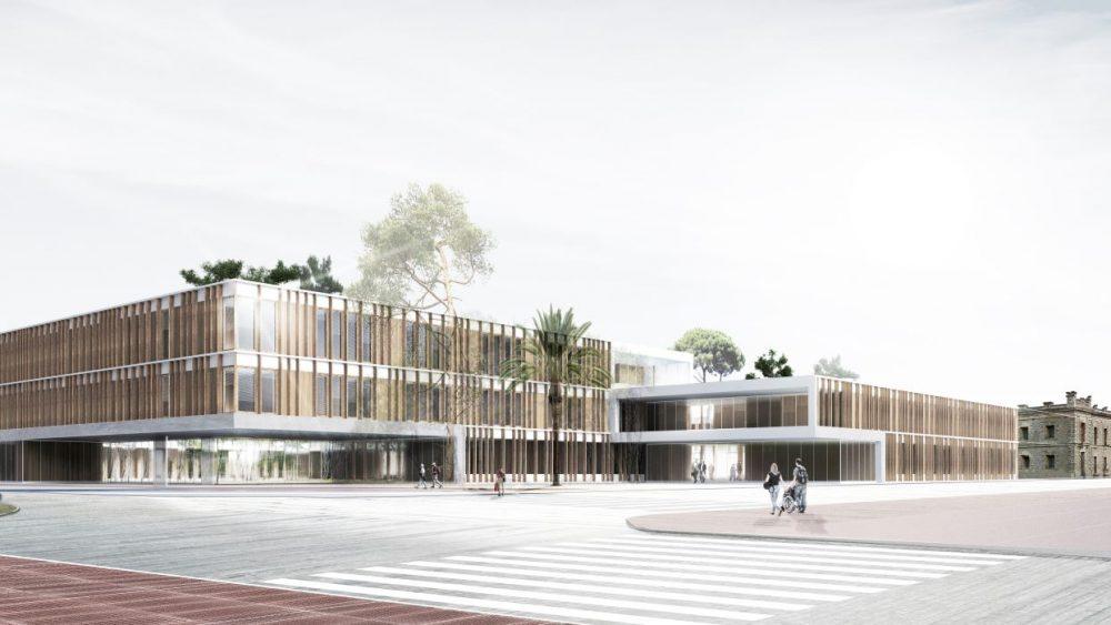 Imagen virtual de la nueva residencia de Maó