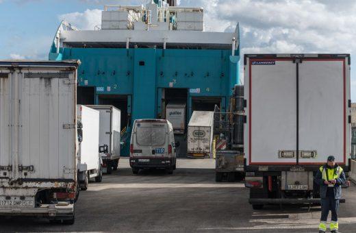 Aumenta el tráfico de mercancías.