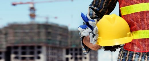 Trabajo en la construcción.