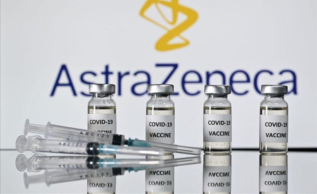 Vacunas de AstraZeneca.