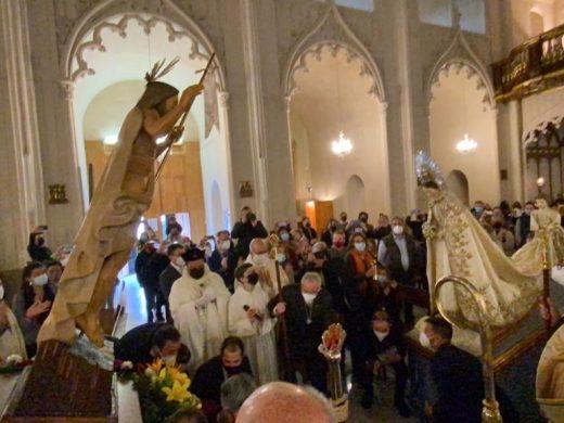 Maó vive 'El Encontre' dentro de Santa Maria