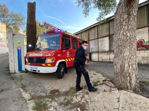 (Fotos) Fuego en Es Freginal