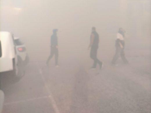 (Vídeos y fotos) Incendio en Es Mercadal